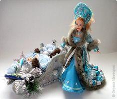 Игра конкурс Свит-дизайн Новый год Моделирование конструирование Кукла в образе Снегурочки Присланные работы Игра в свите Продукты пищевые фото 56