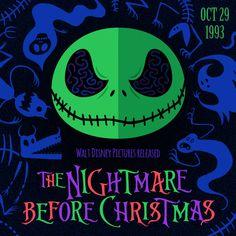 Happy Anniversary to the Nightmare Before Christmas!