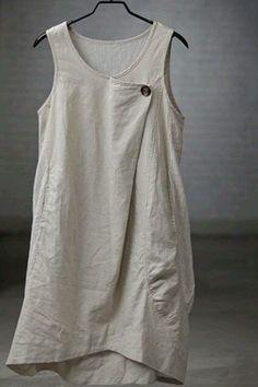 퀼트도안 : 네이버 블로그 Sewing Clothes, Diy Clothes, Boho Fashion, Womens Fashion, Fashion Design, Simple Tunic, Linen Dresses, Mode Inspiration, Stripe Print