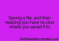 happens too often to me!..