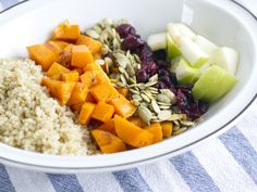 Harvest Quinoa Salad and more on gatheredtable.com