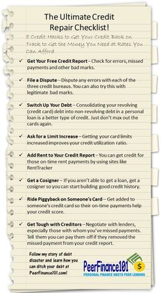 8 steps I used to boost my FICO credit score by almost 200 points and save thousands on new loans. More detail in the article but this checklist will get you started increasing your credit score fast, like within a month fast! Don't avoid your credit score. It's easy to manage and will save you money every single month. #credit #debt