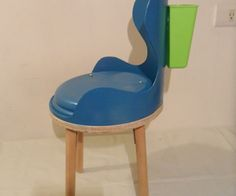 childs chair from 5 gallon bucket