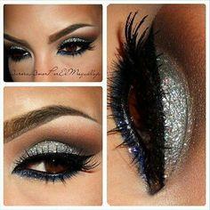 Fabolous glitter makeup