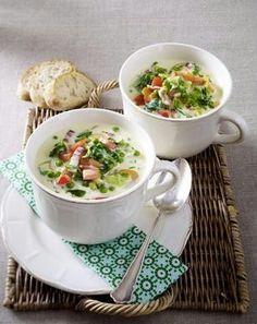 Das Rezept für Endivien-Käse-Suppe und weitere kostenlose Rezepte auf LECKER.de