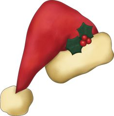 Christmas Santa Hat Graphic