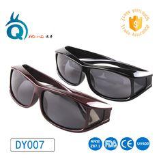 8392e67c2b9 Free shipping Polarized Lens UV400 fit over Sunglasses Wear Over  Prescription Glasses For Men and Women Glasses cover sunglasses