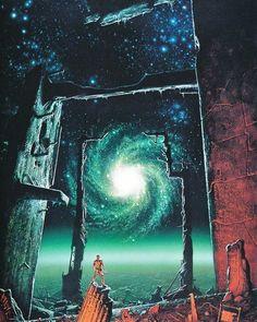 80s scifi art