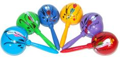What if I bought a lot of maracas and put them on canvas, similar to On the Border?  thoughts, @Kelly W