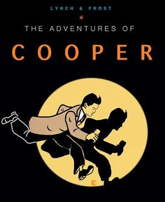 Dale Cooper is Tintin Best Tv Shows, Best Shows Ever, David Lynch Twin Peaks, Ligne Claire, Film Books, Graphic Design Illustration, Twins, My Love, Movies