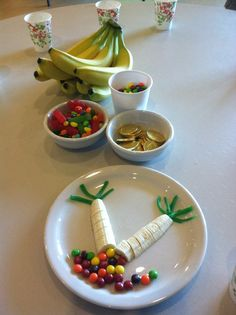 Treasure under a tree snack! Really clever!  SVLC VBS