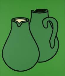 Patrick Caulfield Two Jugs, 1969  © The estate of Patrick Caulfield.