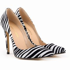 Pas cher Femmes pompes 11 cm talons hauts mode Zebra femmes avec talons bas rouges chaussures de mariage Chaussure Femme, Acheter  Ballerines pour femmes de qualité directement des fournisseurs de Chine:          Heel hight: 11 cm                             Classiques bout pointu pompes, de haute qualité, pas comme