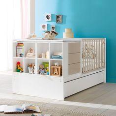 Modernes Design und Funktionalität im #Kinderzimmer: mit dem #Umbaubett Voyager: Dieses Bett eignet sich als #Babybett mit Wickeltisch und kann später zu einem große Juniorbett mit Regalsystem und Schreibtisch umgebaut werden - Made in Itayl bei uns im #Babyshop http://pali-world.de/index.php?cPath=1_99