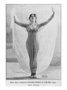 Mata Hari, C.1905 Giclee Print