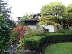 Henderson House landscaping