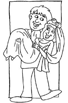 999 Wedding Coloring Pages