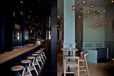 ZONA Wine Bar and Restaurant in Budapest, Hungary / HALF& HALF beauty! http://www.yatzer.com/zona-wine-bar-restaurant-budapest-hungary