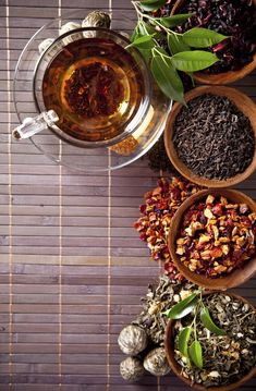 Love these herbal tea recipes //