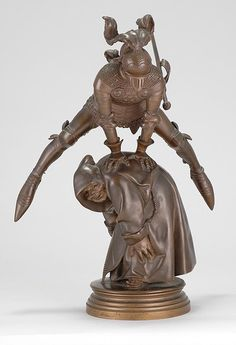 "GUSTAVE DORÉ French, 1832-1883 Saute-Mouton"" (Leap Frog)"