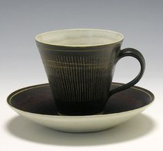 Cup & Saucer   Lucie Rie