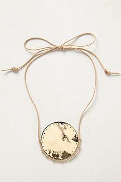 Oak Moon Necklace from Anthropologie - $178.00