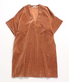 AMBIDEX Store CORDUROY dress (F tea): l'atelier du savon