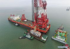 Key structure installed in HK-Zhuhai-Macao cross-sea bridge