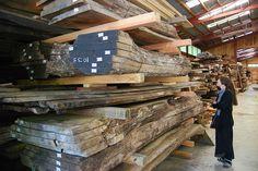 a huge barn for wood storage Furniture Legs, Fine Furniture, Furniture Making, George Nakashima, Wood Rack, Got Wood, Wood Tree, Salvaged Wood, Wood Slab