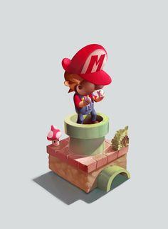It's Mario time