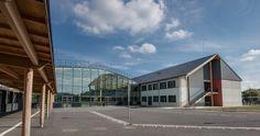 Collège Pablo Picasso, couverture en ardoise CUPA 7   #CUPAPIZARRAS #projet #toiture #architecture #France