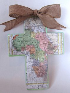 Compassion crosses - make as a reminder to pray for your sponsored child.