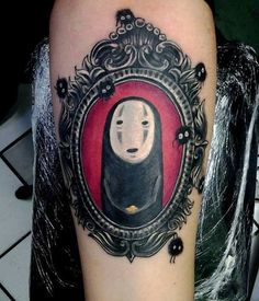 You're Thinking of Gettin' Inked? Just Take A Look At These, 12 Fantastic Tattoos from Hayao Miyazaki's Universe! Tatuaje Studio Ghibli, Studio Ghibli Tattoo, Anime Tattoos, Body Art Tattoos, Cool Tattoos, Awesome Tattoos, Tattoo Art, Crazy Tattoos, Interesting Tattoos
