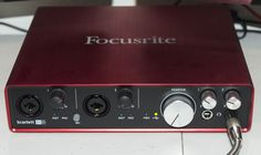 Just replaced my ageing Presonus with a Focusrite Scarlett 6i6 - don't need 6 inputs but did need the separate power rather than USB power!