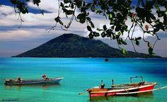 Bunaken Marine Park, Sulawesi, Indonesia