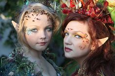 Water and Fire Fairies | Desifairy Photo Shoot, 2010 Texas R… | Flickr