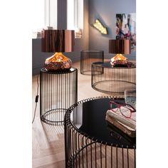 Stolní lampa v měděné barvě Kare Design Rumble Black Coffee Table Sets, Coffee Table Design, Kare Design, Quality Furniture, New Furniture, Copper Table Lamp, Modern Lighting Design, Design Moderne, Interior Design