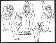 HEIDI'S SONG SEBASTIAN MODEL PACK 1982 Animator owned: R. A. Smith Estate! COA a