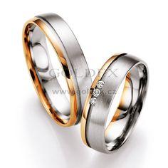 Snubní prsteny s diamanty SP713