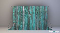 Destroyed Teal Wood  Photography Backdrop by DropsProps on Etsy, $25.00
