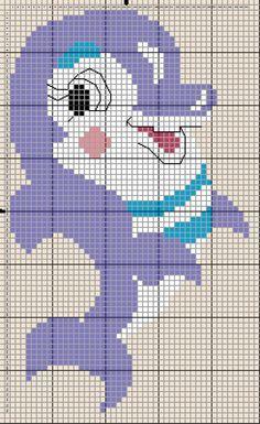 A Smiling Dolphin. Cross stitch chart. #cross_stitch