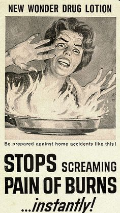 Solarcaine. Stop screaming pain. | Flickr - Photo Sharing!