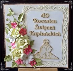 x. KJ - 40 Praying Hands, First Holy Communion, Holi, Scrapbooking, Frame, Diy, Cards, Picture Frame, Bricolage