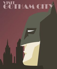 Vintage Posters of Superheroes in their Hometowns by Dave Ault - Heading over to Metropolis for a vacation to check out Superman's stomping ground isn't quite feasible yet, and the shuttle to Gotham City hasn't yet commenced. But you can get these vintage travel posters for your wall. Dave Ault's illustrations, covering Batman, Superman, Wonder Woman, The Flash and more DC Comics heroes, give you a minimalist mid-century travel feel.