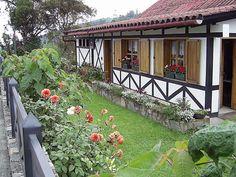 Casa típica de La Colonia Tovar -Aragua, Venezuela