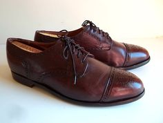 11 M Cole Haan Wing Tip Brogue Shoes Refurbished by Insideredo, $39.99