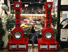 If you had an infinite amount of money to spend, would you buy any of these extravagantly expensive stereo speakers? There's no harm in a little window shopping...