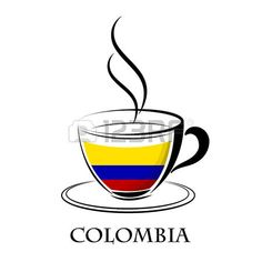 coffee logo made from the flag of Mauritius Chalk Spray Paint, Colombia South America, Coffee Logo, Mugs, Tableware, Flag, Willemstad, Russian Federation, Seychelles