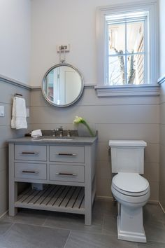 vanity - Shawna Feeley Interiors - Bathrooms