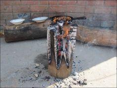 antorcha de fuego sueco que una estufa de un registro único (4)